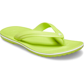 Crocs Crocband Flip Sandals lime punch/white